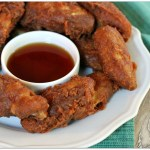 Beer Battered Fried Chicken Wings