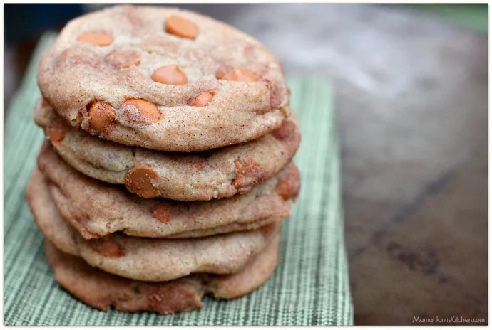 Butterscotch Snickerdoodle Cookies | Mama Harris' Kitchen