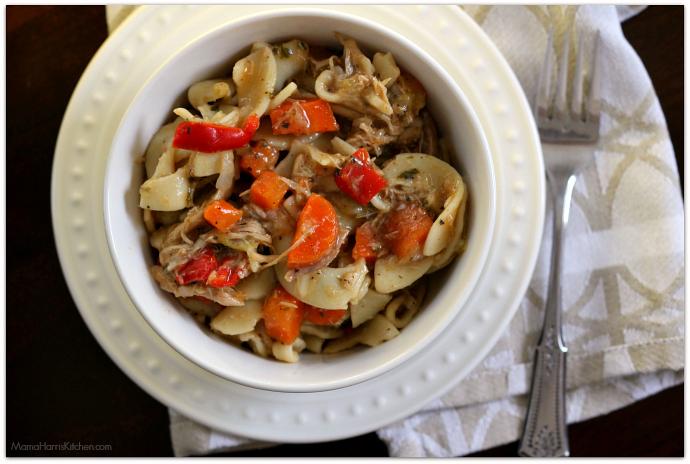 Savory Chicken Noodle Soup   Mama Harris' Kitchen