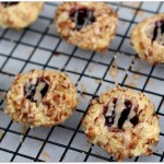 Cherry Pecan Thumbprint Cookies