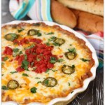 Cheesy Bean Dip with a Kick!