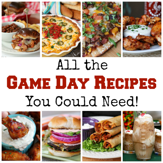 All the Game Day Recipes You Could Need! | Mama Harris' Kitchen