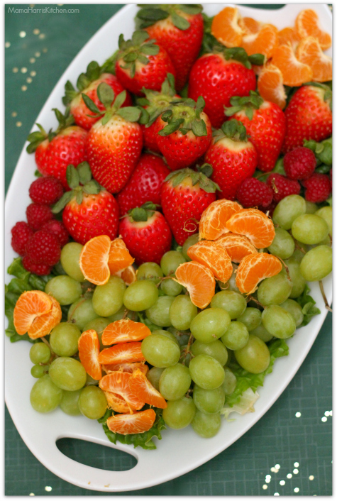 Fresh Fruit Platter for your BIG Game Day Party! #GameDayGlory AD | Mama Harris' Kitchen