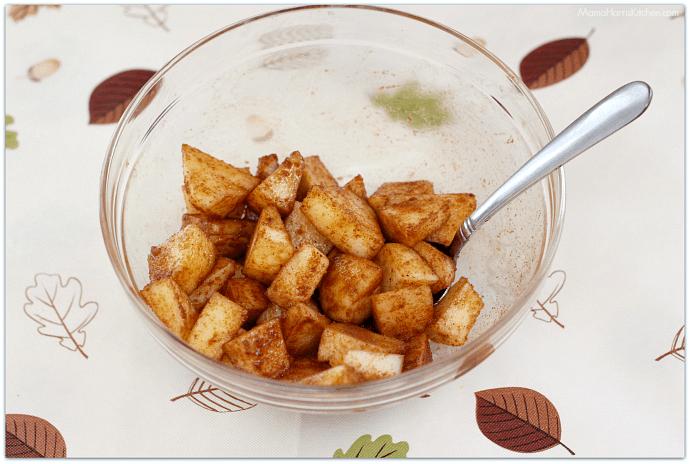 Apple Yogurt Parfaits with Homemade Fall Flavors Granola #StarbucksAtHome #SavorEverySip AD   Mama Harris' Kitchen