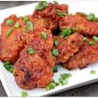 Hawaiian BBQ Chicken Wings