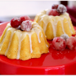Mini Whipping Cream Pound Cakes with Butter Rum Glaze
