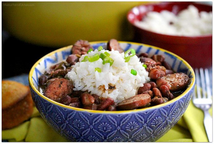 Red Beans and Rice | Mama Harris' Kitchen