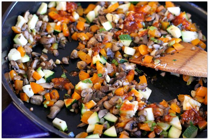 Easy Pork Loin Lettuce Wraps AD #RealFlavorRealFast | Mama Harris' Kitchen