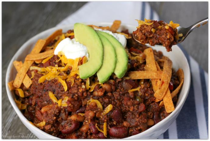 Hearty Instant Pot Chili | Mama Harris' Kitchen