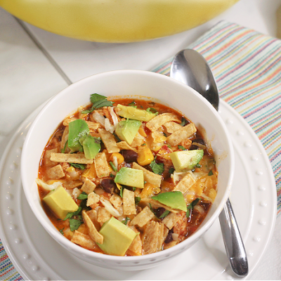 Easy Chicken Tortilla Soup #HousefulOfSoups | Mama Harris' Kitchen