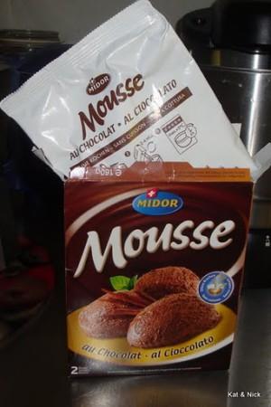 Mousse au chocolat Pulver