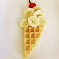 Funny Food, Foodart,Eis, Ice Cream, Essen für Kinder, for Kids, Obstteller, Waffeln