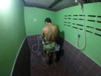 Toilet stop antes de arrancar