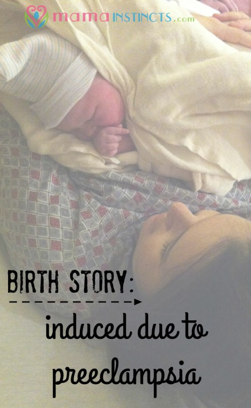 I had planned a natural birth and suddenly it was my past my due date and I developed preeclampsia. Read my story of an epidural-free, induced with pitocin birth.