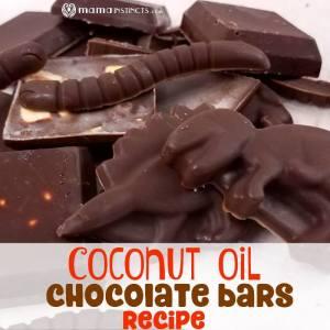 Coconut Oil Chocolate Bars Recipe