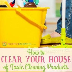 How to clear your house of toxic cleaning products