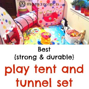 Best {strong & durable} play tent and tunnel set