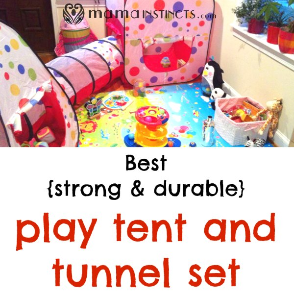 sc 1 st  Mama Instincts & Best strong u0026 durable play tent and tunnel set u2013 Mama Instincts