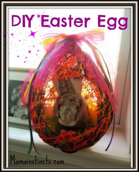 DIY Easter egg