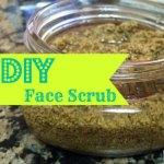 DIY Face Scrub