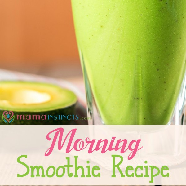 Try this organic smoothie - the kids will love it! #organic #smoothie #recipe #kidapproved