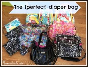 The perfect diaper bag