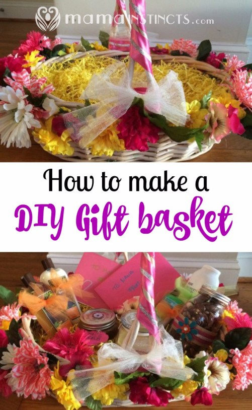 Make any gift stand out by making a DIY basket to go along with it. This is so easy to make and gives your gift a very personal touch.