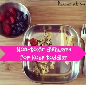 Non-toxic dishware for your toddler
