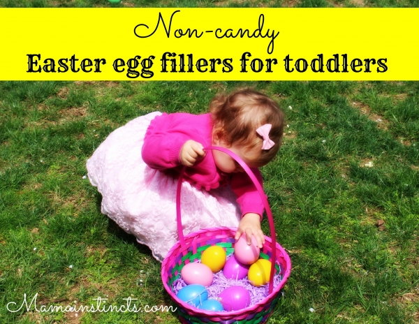 Non Candy Easter Egg Fillers For Toddlers