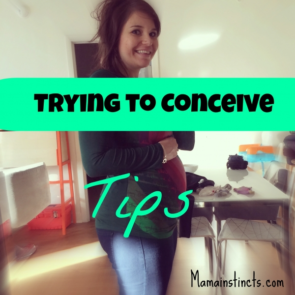 Trying to conceive tips