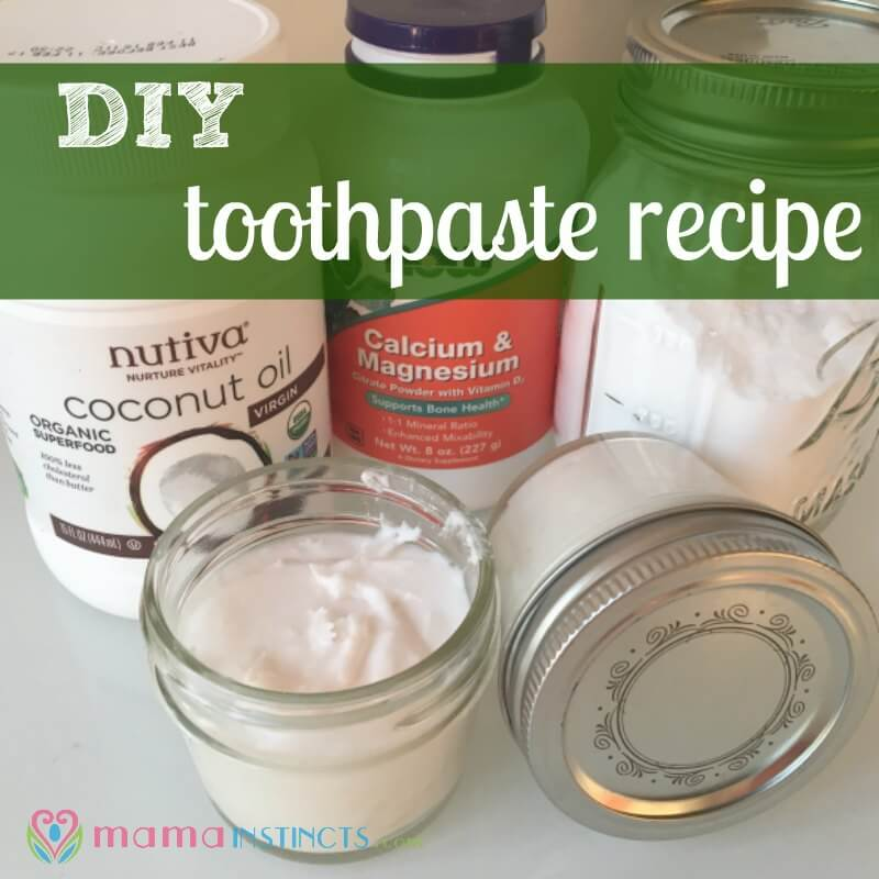 Looking for a natural toothpaste recipe that actually works? You can make your own kid-friendly toothpaste with only 3 ingredients in under 5 minutes. Click to read or pin it for later.