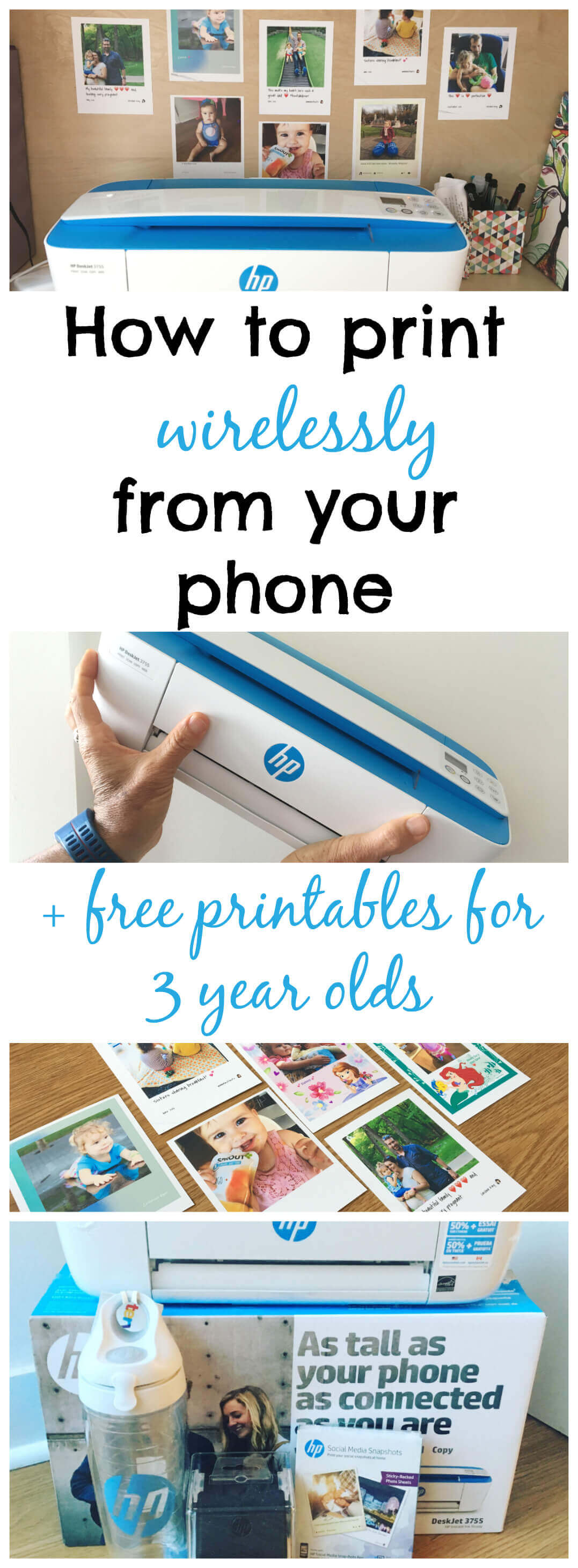 how to print wirelessly from your phone free printables for 3 year