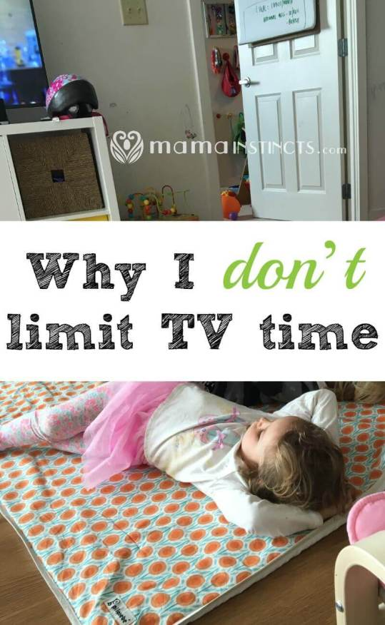 Find out why by letting our kids watch TV, they don't obsess over it and gravitate towards other activities.