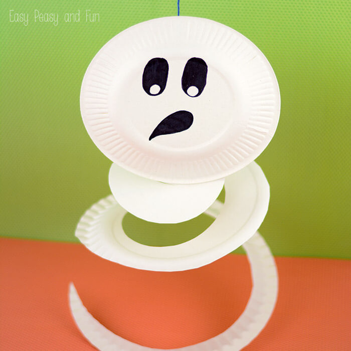 Ghost-Paper-Plate-Craft