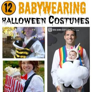 12 Babywearing halloween costumes