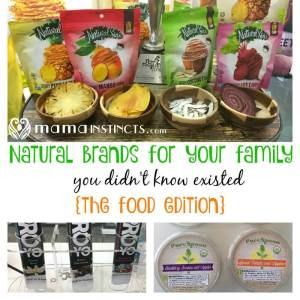 Natural brands for your family {the food edition}