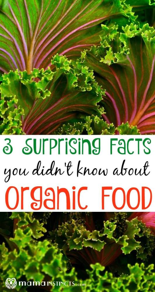 With so much misinformation going on about organic foods, I want to share with you 3 fascinating facts you probably didn't know and what the USDA organic label really means