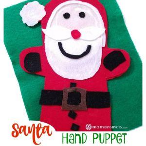 Santa Hand Puppet