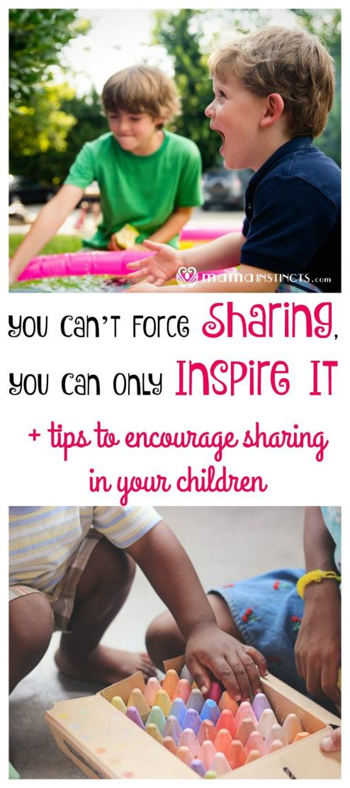 What do you do when all of a sudden 2 kids want the same toy? Forcing them to share is not the answer. Find out why and how to inspire sharing in your child.