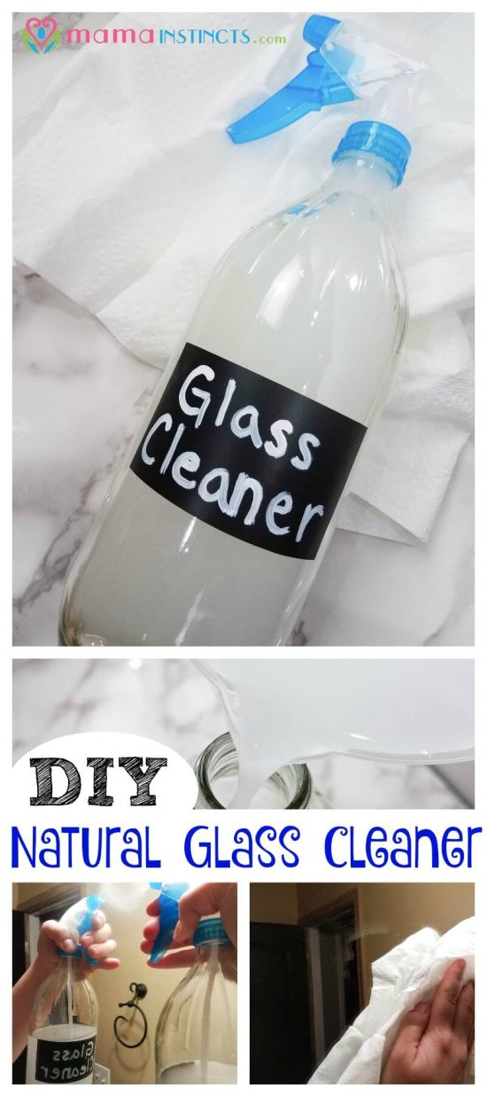 Want an effective window, glass and mirror cleaner that is made with natural ingredients, safe and non-toxic? Then you have to try this easy DIY recipe.