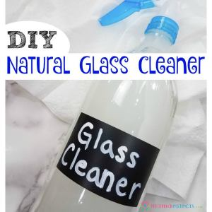 DIY Natural Glass Cleaner