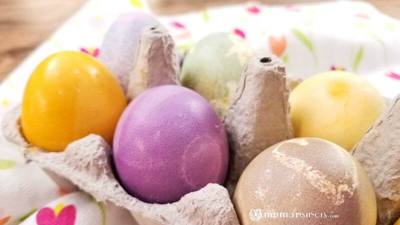 How to Dye Easter Eggs with Natural Colors – Mama Instincts