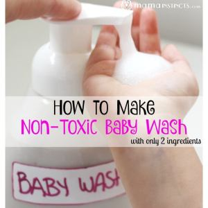 How to Make Non-Toxic Baby Wash