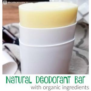 DIY Natural Deodorant Bar (with Organic Ingredients)
