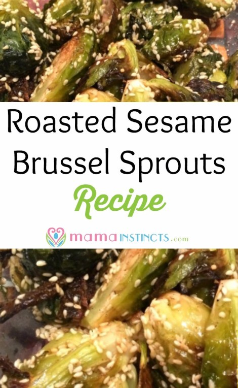 Try this kid approved recipe. Easy to make, healthy and very tasty! All you need is brussels sprouts, sesame seeds and a few more ingredients.
