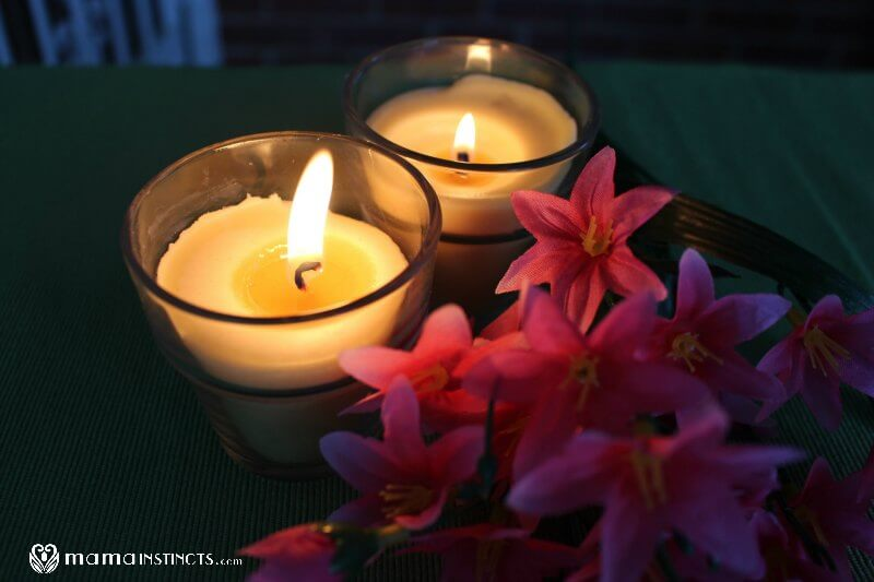 how to make beeswax candles scented