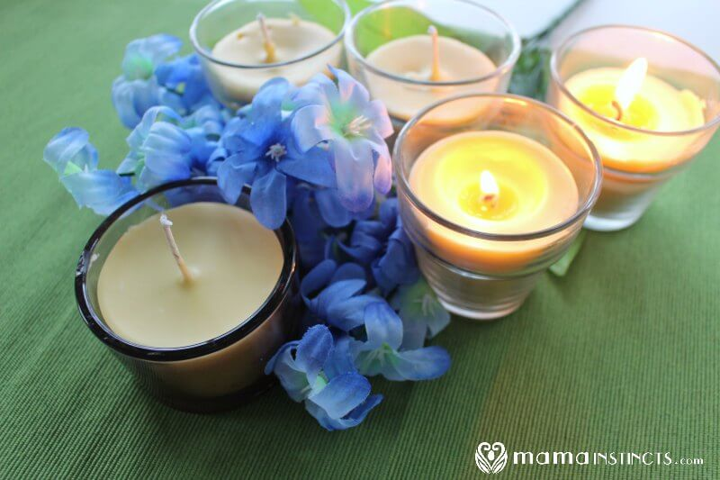 How to Make Beeswax Candles {Scented and Non-Toxic} – Mama