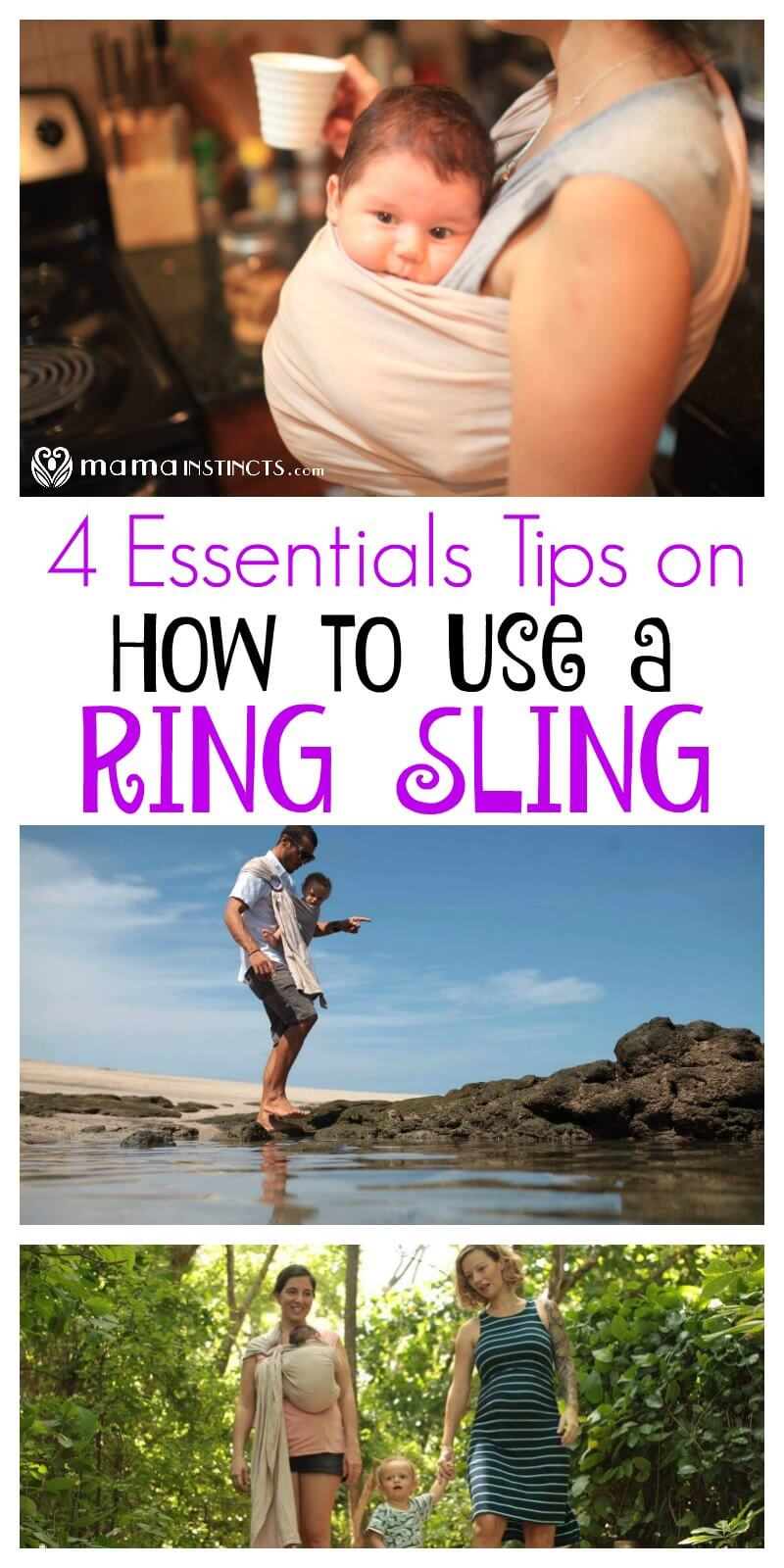4 Essentials Tips On How To Use A Ring Sling Babycarrier Mama