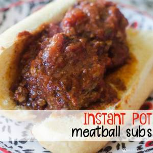 Instant Pot Meatball Subs Recipe