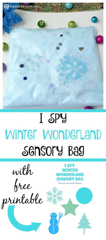 Try this fun sensory play activity that will keep the kids entertained for hours. It comes with a free printable to make this sensory bag an engaging and learning activity. #sensoryplay #sensorybag #kidsactivities